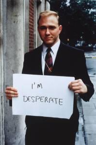 'I'm desperate' 1992-3 Gillian Wearing OBE born 1963 Purchased 2000 http://www.tate.org.uk/art/work/P78348
