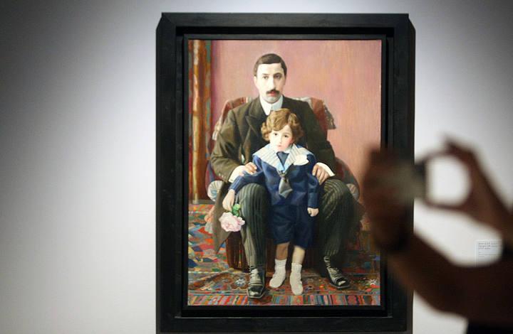 MLG 13/08/2015.-Exposici—n temporal del artista ruso P‡vel Fil—nov,