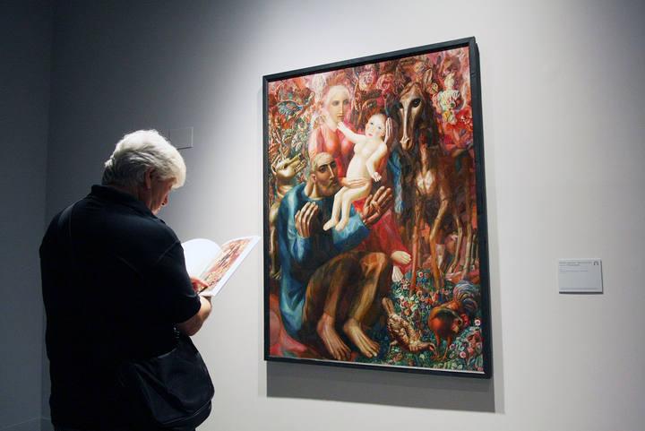 MLG 13/08/2015.-Exposici—ón temporal del artista ruso P‡vel Fil—nov,
