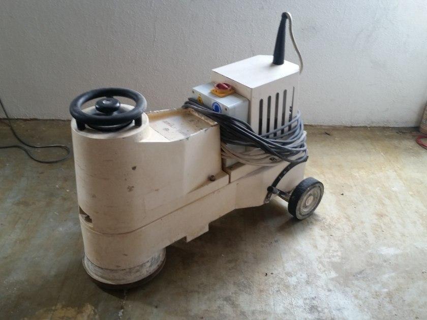 Máquina para pulir