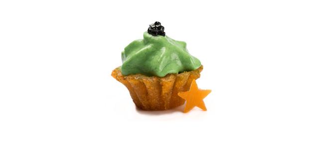 Cupcake. De Huevo de Cordorni
