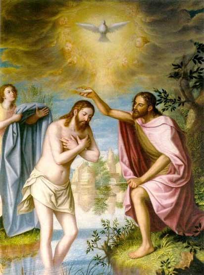 Hijo de Santa Isabel (prima de María) Bautiza a Jesús en el Jordán. Muere decapitado.