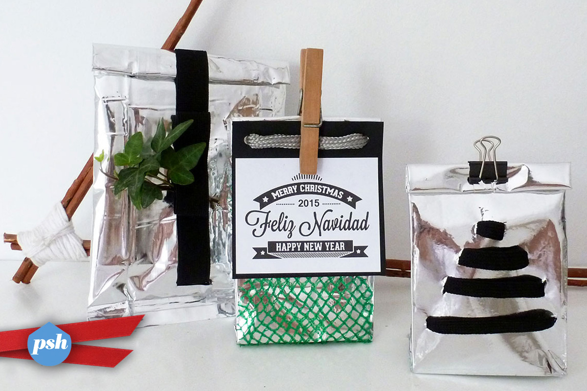 Tres ideas caseras para envolver regalos de navidad for Ideas para envolver regalos