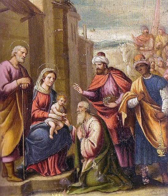 Pintor italiano anónimo de principios del siglo XVIII. Monasterio de Trinitarias Descalzas de San Ildefonso. Madrid.