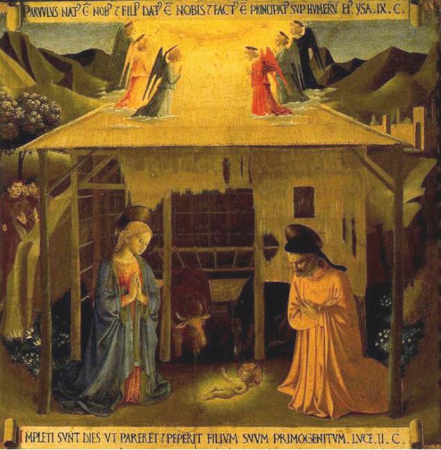 Fray Angelico (1390-1455). Fresco.