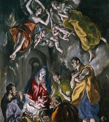 La natividad es una obra de El Greco, realizada entre 1603 y 1605 durante su último período toledano. Se conserva en la Capilla mayor del Hospital de la Caridad de Illescas.