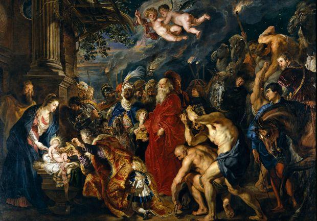 La Adoración de los Reyes Magos, perteneciente a la colección del Museo del Prado (Madrid, España), es un cuadro del pintor flamenco del barroco Peter Paul Rubens, considerado desde antiguo como una de sus obras maestras. Fue ejecutado en 1609, aunque posteriormente el propio Rubens lo repintó y amplió entre 1628 y 1629,1 durante su segundo viaje a España.
