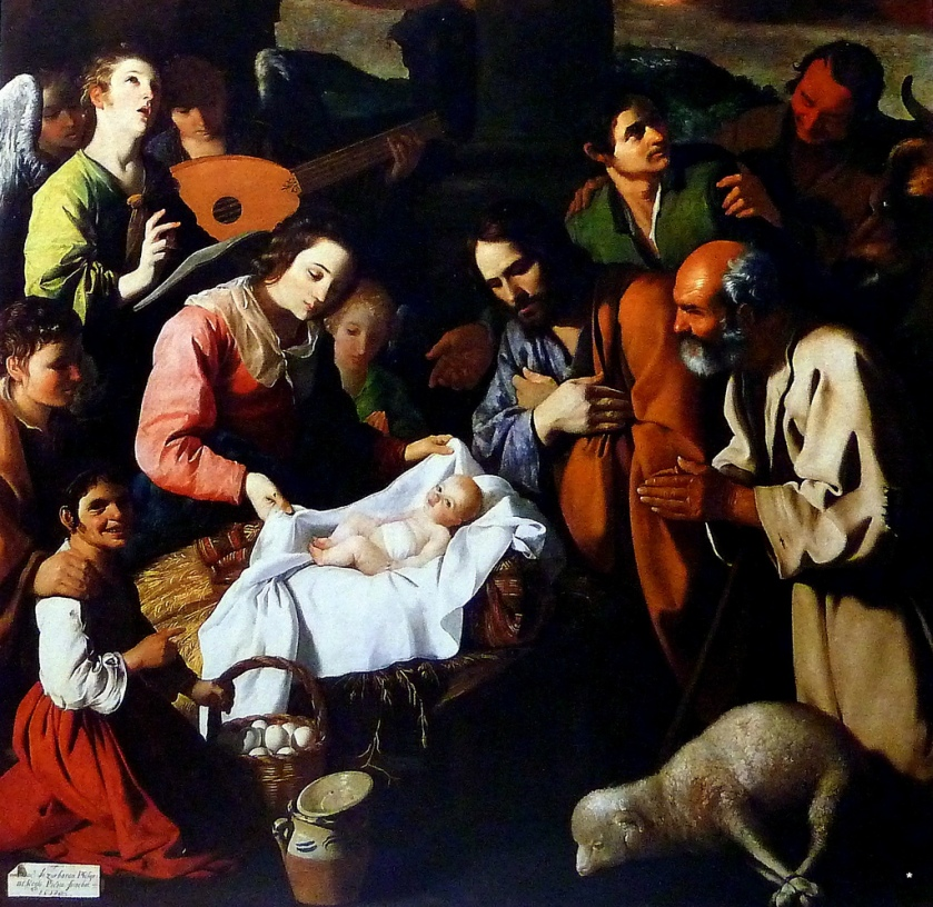 Museo de Grenoble Francisco de Zurbarán. La Adoración de los Pastores (1638). Museo de Grenoble