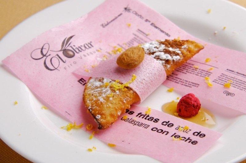 Empanadilla frita de Arroz de Calasparra 5º ELEMENTO. Foto: Matías Pérez Llera