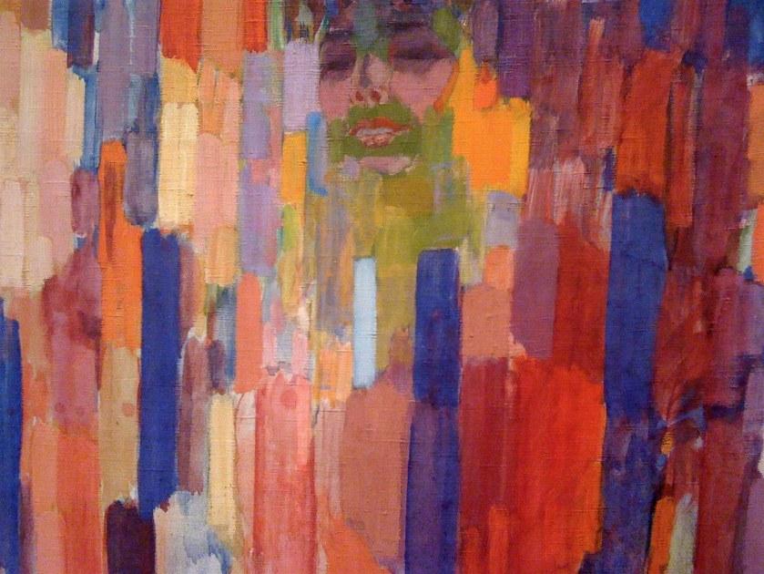 František Kupka Mme Kupka among Verticals 1910-11