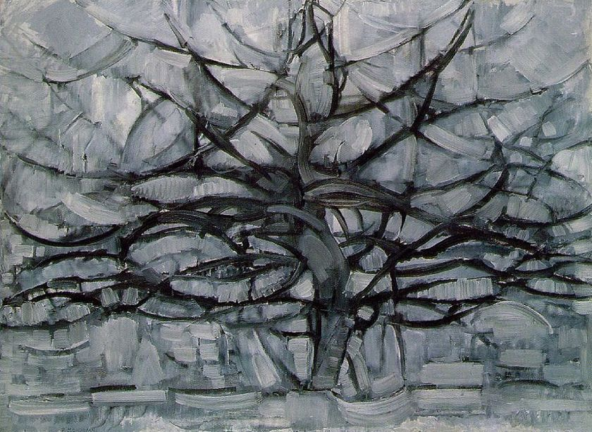 The Gray Tree, 1912 by Piet Mondrian