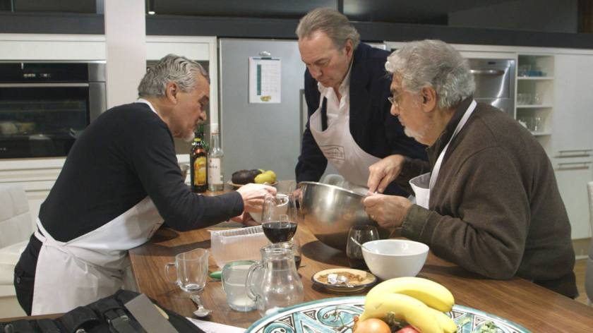 rtve, con Bertín Osborne y Plácido Domingo