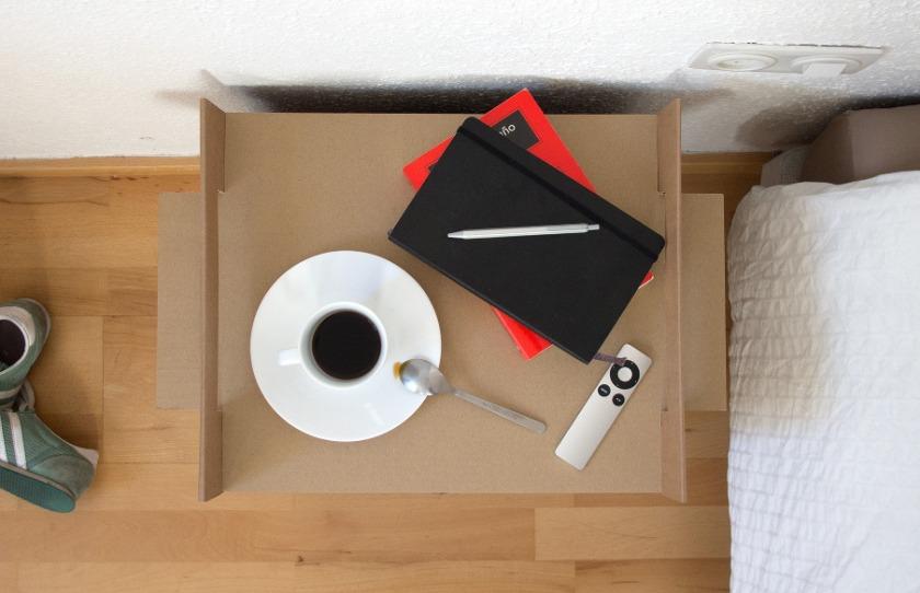 Mueble de Cartón. Nit-adriancandela.com