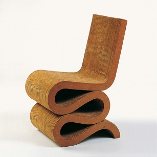 Frank Gehry. EasyEdgeChair-Wiggle Side Chair