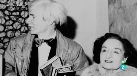 Maruja Mallo y Andy Warhol