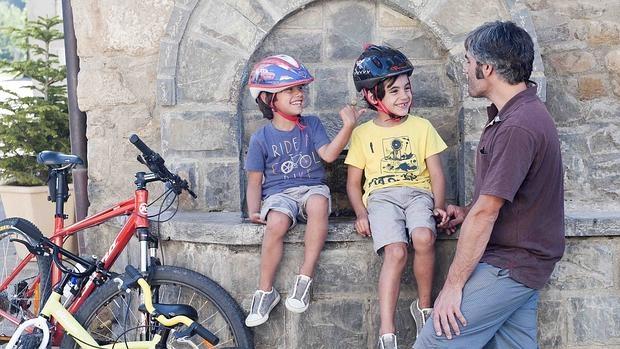 Itinerarios en bici para ir en familia este verano.