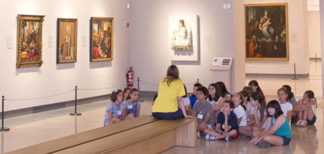 Talleres para niños en el Museo de El Prado. elmundo.es
