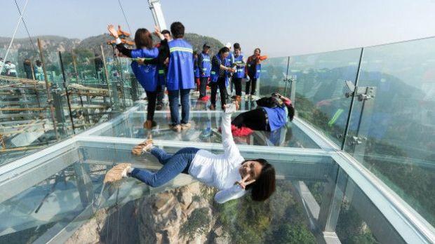 Mirador transparente más grande del mundo.