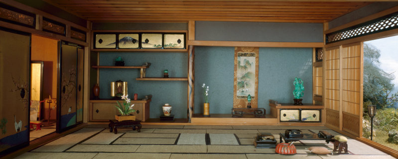 Japanese Traditional Interior, c. 1937