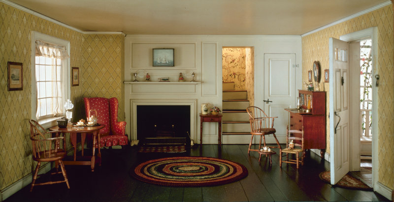 Cape Cod Living Room, 1750-1850, c. 1940