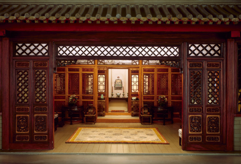 Chinese Interior, Traditional, c. 1937