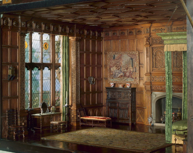 English Bedchamber of the Jacobean or Stuart Period, 1603-88, c. 1937