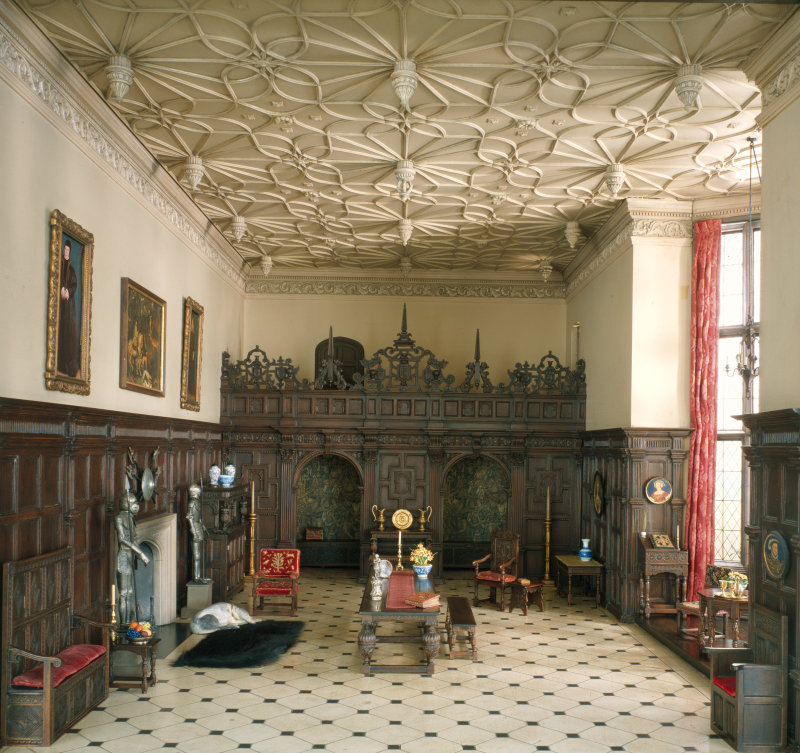 English Great Room of the Late Tudor Period, 1550-1603, c. 1937
