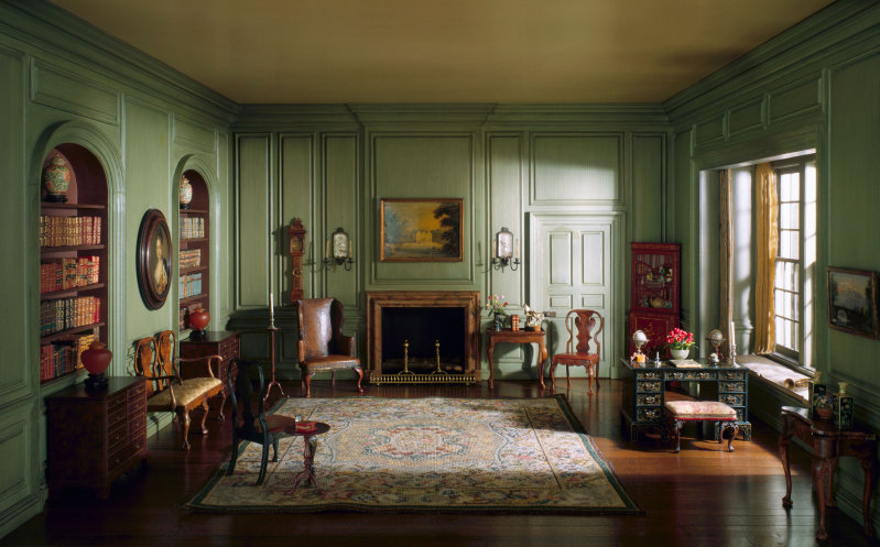 English Library of the Queen Anne Period, 1702-50, c. 1937