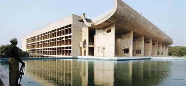 Le Corbusier. Chandigarh