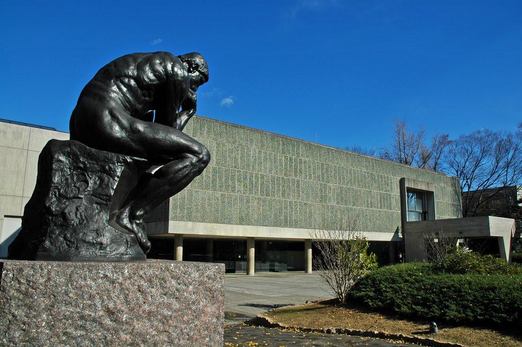 le corbusier museo nacional de bellas artes de occidente de tokio japn