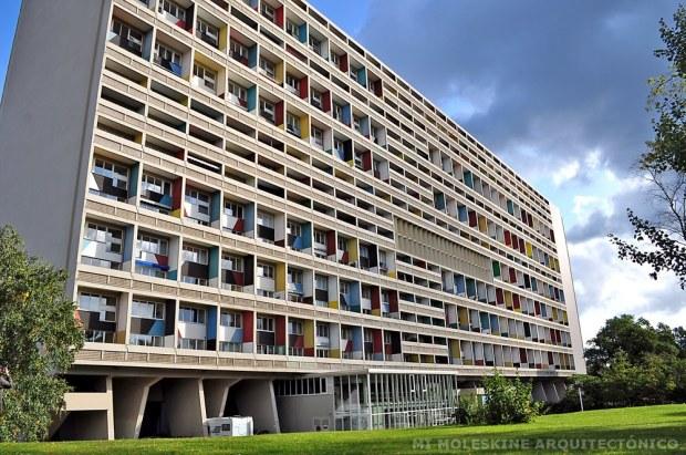 Le Corbusier. Unidad de Viviendas de Marsella (Francia)