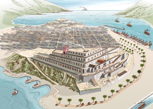 El palacio de Asdrúbal