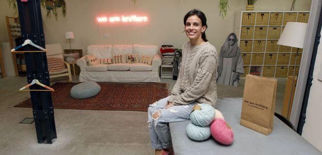 Pepita Marín, consejera delegada y cofundadora de We Are Knitters. (Juan Lázaro)