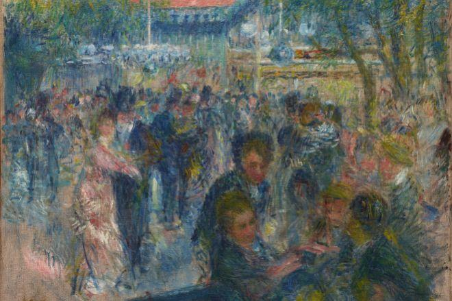'Estudio para Le moulin de la galette', de Renoir.