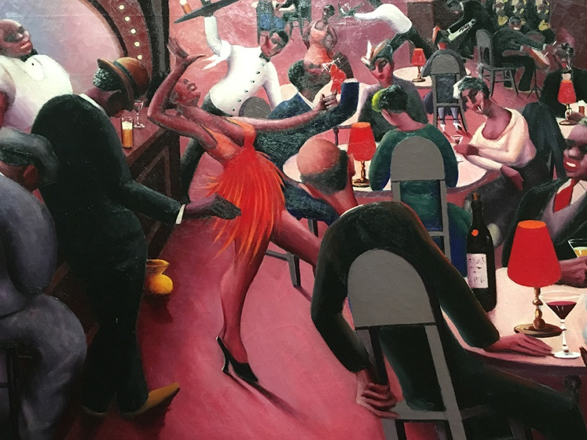 Archiblad J. Motley, Americano, 1891-1981. Saturday Night, 1935.