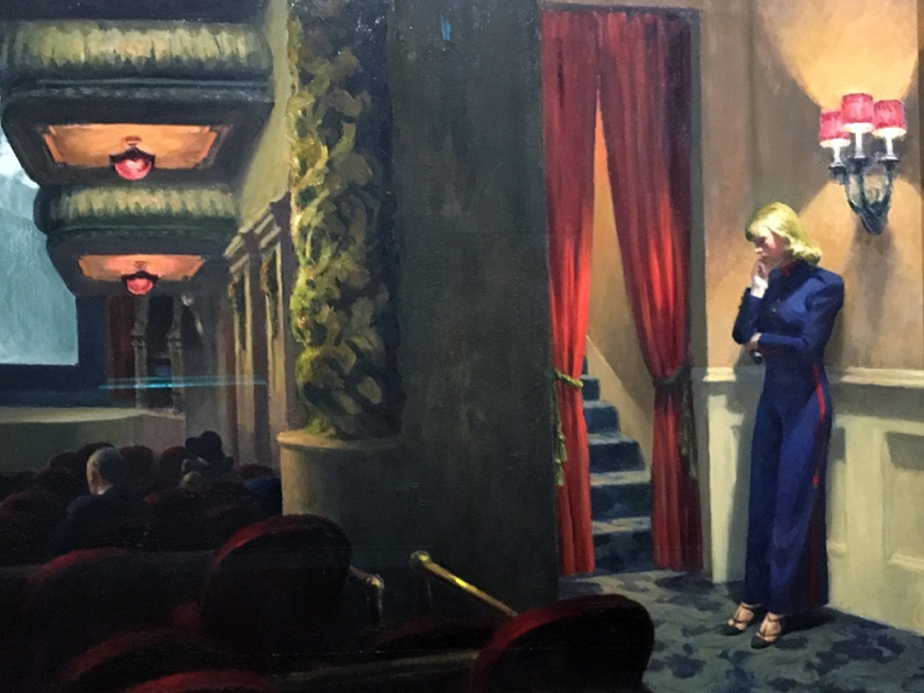 Edward Hopper, Americano, 1882-1967. New York Movie, 1939.