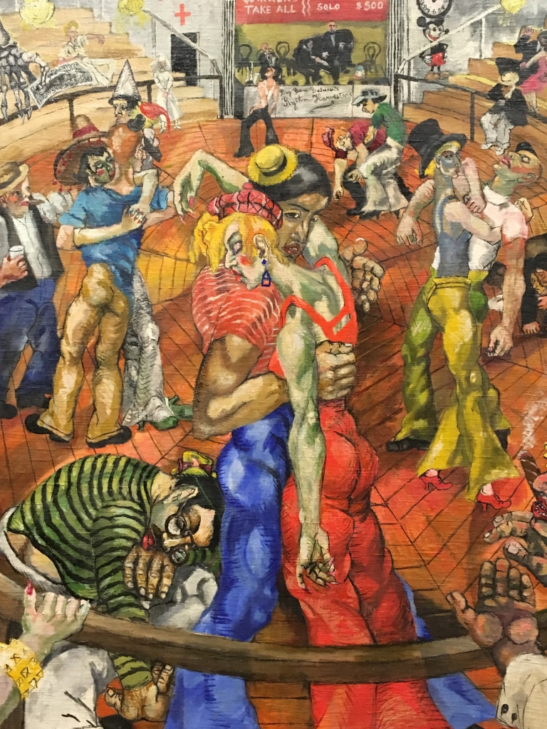 Philip Evergood, Americano,Dance Maraton, 1934.