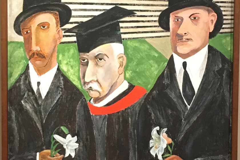 Ben Shahn, Americano nacido en Rusia (ahora Bielorusia), 1904-1969. The Passion of Sacco and Vanzetti, 1931-32.