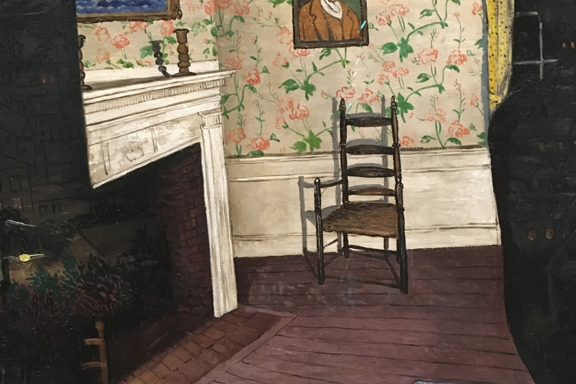 Morris Kantor, Americano nacido en Rusia (ahora Bielorusia), 1896-1974. Haunted House, 1930.