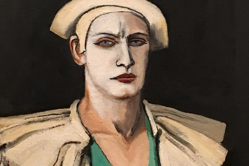 Walt Kuhn, Americano, 1877-1949. Portrait of the Artist as a Clown (Kansas), 1932.