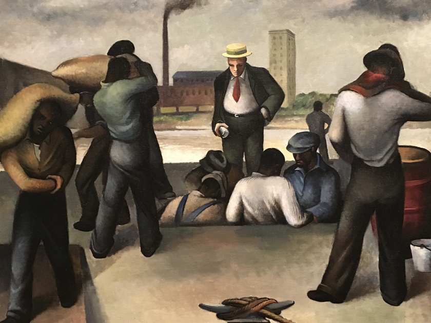 Joe Jones, Americano, 1909-1963. Roustabouts, 1934.