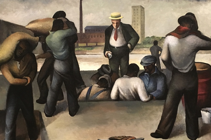 Joe Jones, Americano, 1909-1963. Roustabouts, 1934.