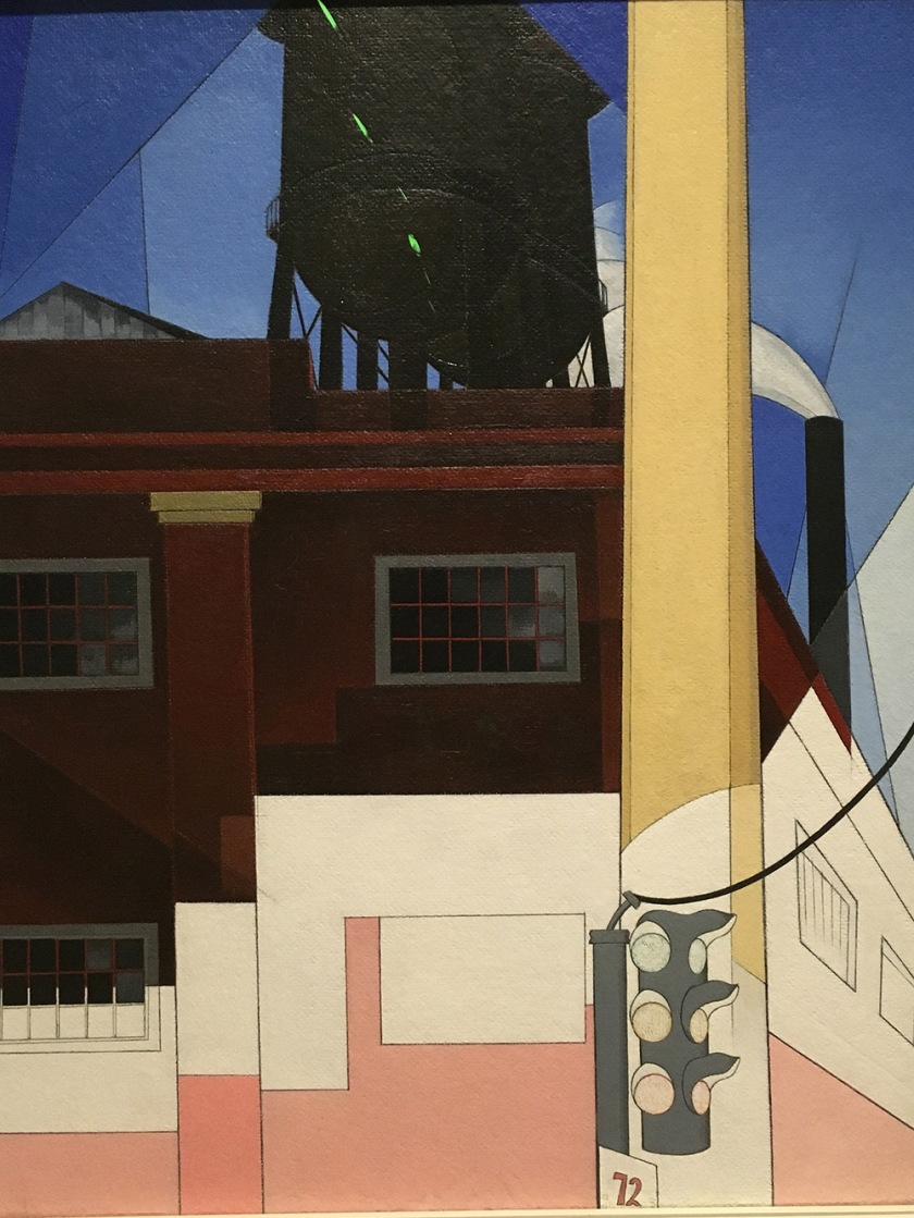 Charles Demuth, Americano, 1883-1935. … And the Home of the Brave, 1931.