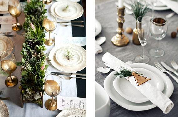 Un modo sencillísimo de hacer un camino de mesa y decorar la servilleta.