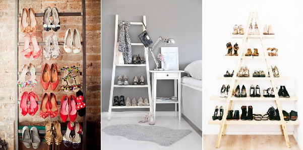 Zapatos Organizados: Estructuras a la vista. (Foto: Ideas para)