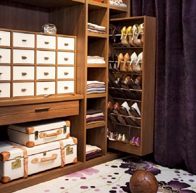 Zapatos organizados: El fondo del armario: perfecto aliado. (Foto: Tiempo de san Juan)