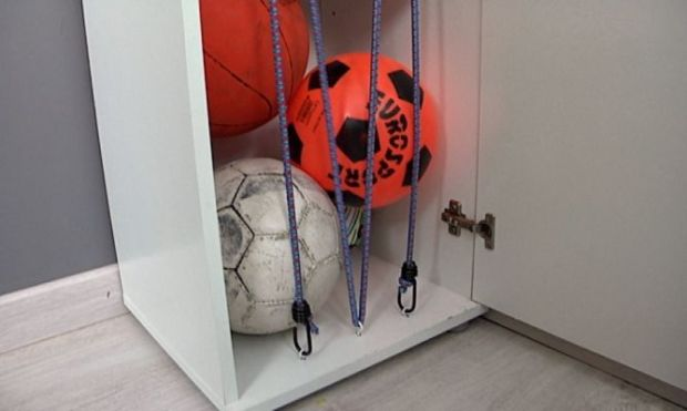 Esta idea de armario con extensores acoplados tipo DYC no está nada mal. Foto: hogarmania.com