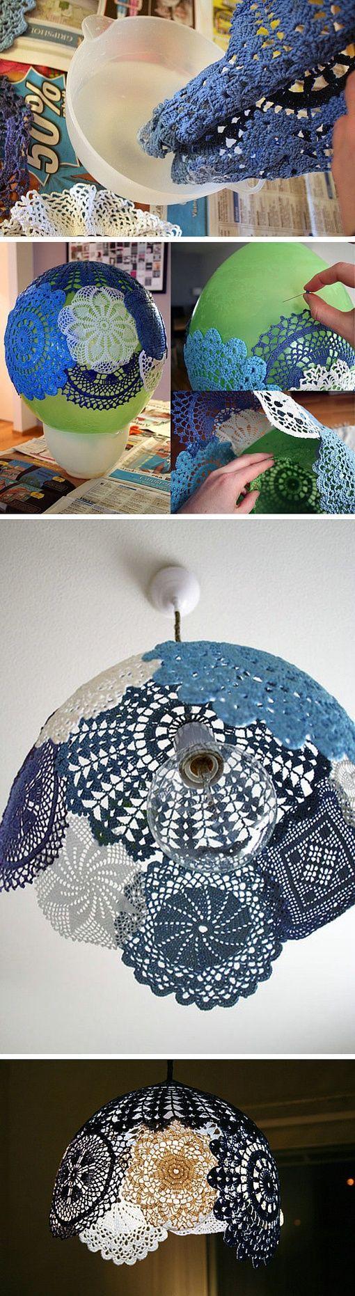 Si creías que el croché estaba 'demodé'... creo que esta maravillosa idea lo actualiza al 100%