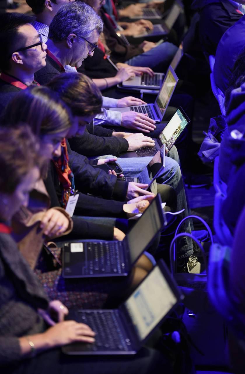 Conferencia de desarrolladores de Facebook en San Francisco, en abril de 2016.