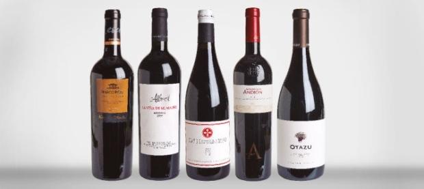 Arturo Sánchez, jamón serrano. Vinos tintos y vinos rosados de Navarra.
